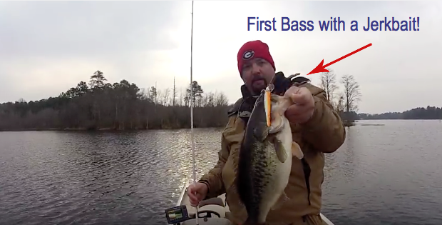 all about jerkbaits and bass habits for winter fishing - bass blab, Hard Baits